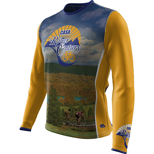 CASA River Century + Mens Long Sleeve REC T Elite
