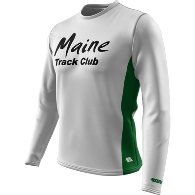 Maine Track Club + Mens Long Sleeve REC T Elite