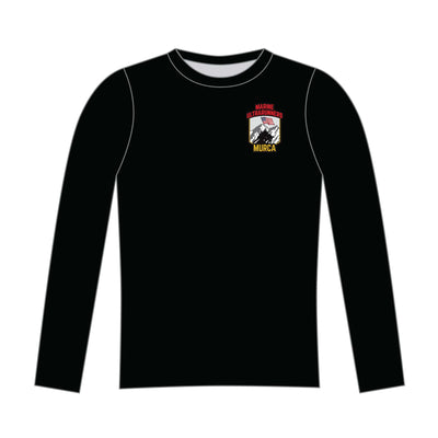 MURCA Long Sleeve Tech Tee - Black