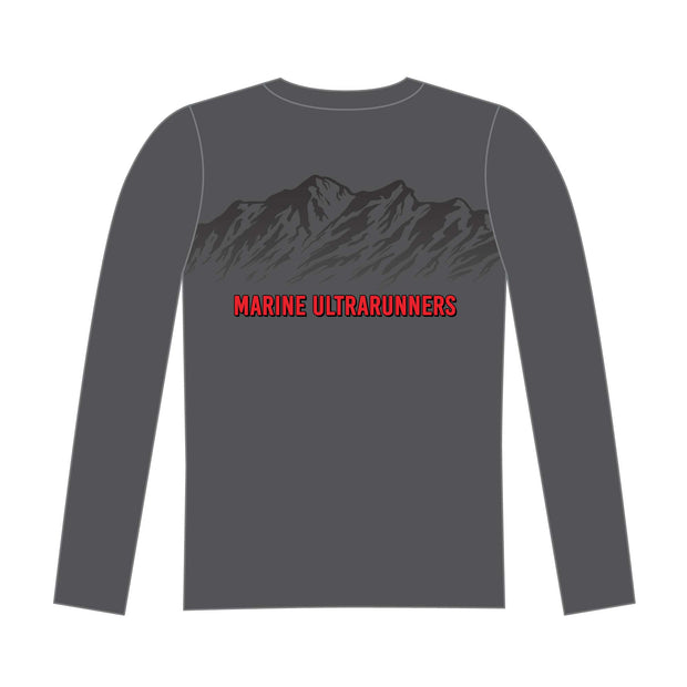 MURCA Long Sleeve Tech Tee - Gray