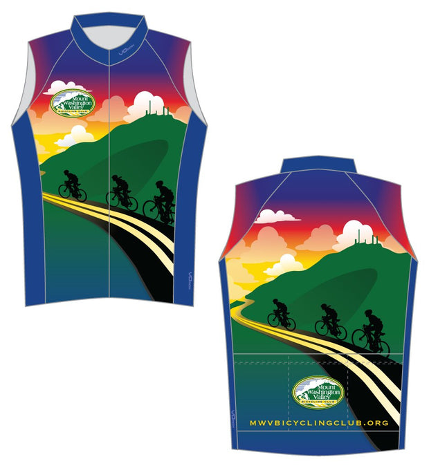 Mount Washington Valley Bicycling Club Sleeveless Cycling Jersey