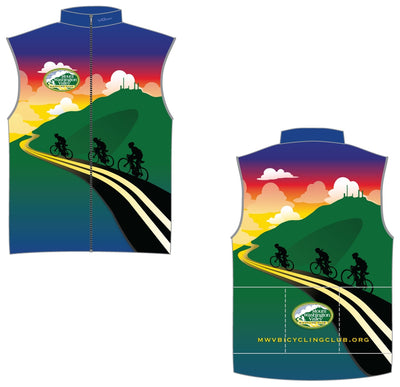 Mount Washington Valley Bicycle Club Unlined Wind Vest