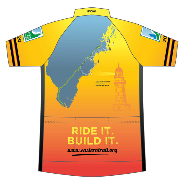 Maine Lighthouse Ride 2020 Womens Cycling Jersey (ORDER UP IF WANT LOOSER)