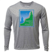 Eastern Trail + Mens Long Sleeve Hybrid T