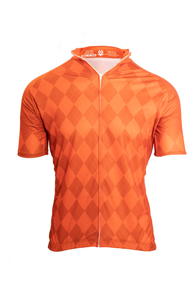 Vomax Men's Elite Cycling Jersey - Orange