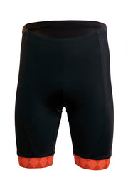 Mens Elite Shorts - Orange Accent