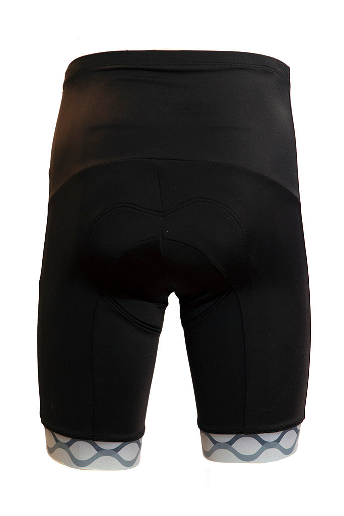 Men's Elite Cycling Shorts - Grey Accent