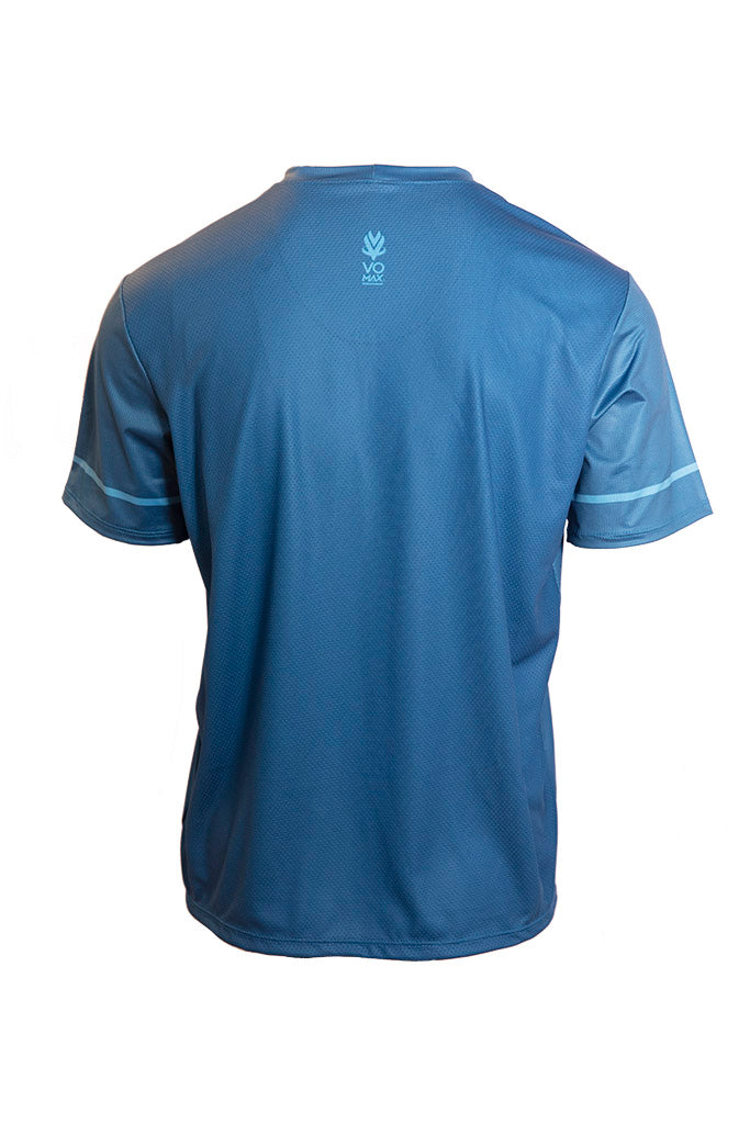 VOmax Men's Tech Tee - Blue