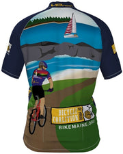 Bicycle Coalition of Maine New Lighthouse Jersey w/Lumex Pocket