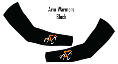 North Shore Cyclists Black Arm Warmers