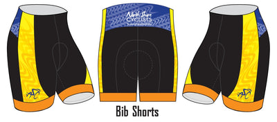 North Shore Cyclists Cycling Shorts