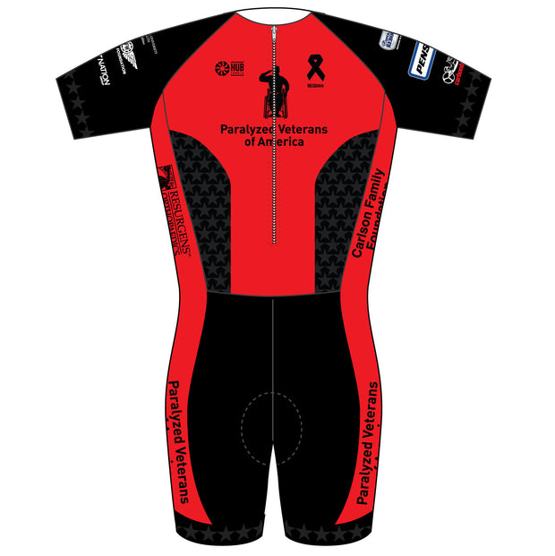 Paralyzed Veteran Racing Short Sleeve Skinsuit