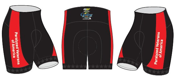 Paralyzed Veterans Cycling Shorts