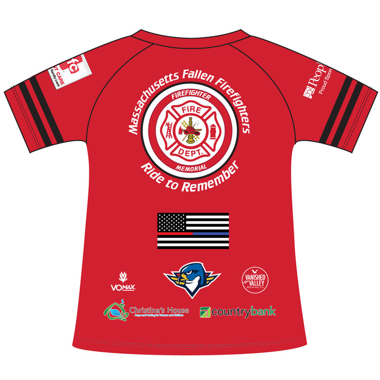 2020 Ride to Remember Fire Short Sleeve Tee