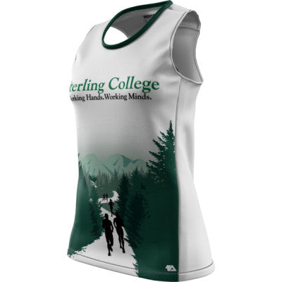Sterling College + Womens REC Singlet Elite
