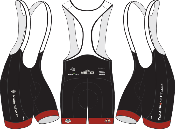 Men's Spoke Cycles Bib Shorts