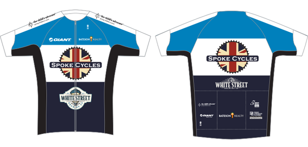 Youth Spoke Cycles Raglan Club Jersey