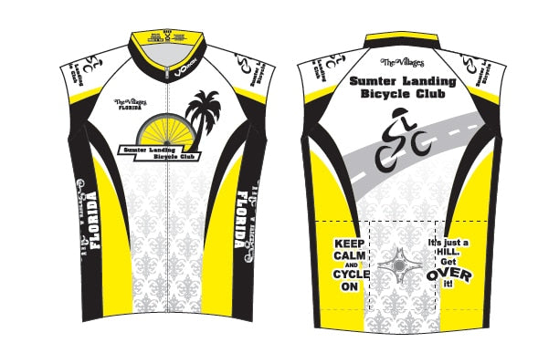 Sumter Landing Bicycle Club Sleeveless Cycling Jersey