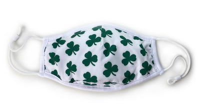 3-Layer Face Mask – Shamrocks
