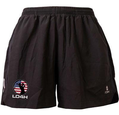LD4H Women's Running Shorts - Black