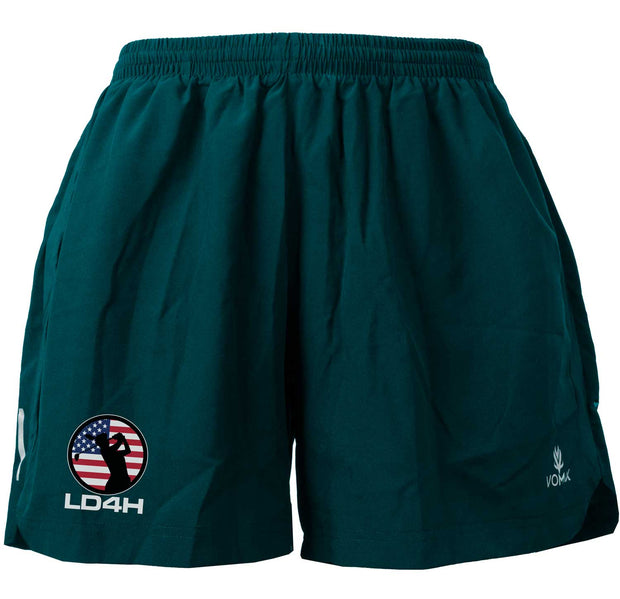 LD4H Women's Running Shorts - Teal