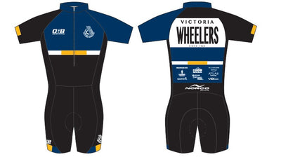 Victoria Wheelers Short Sleeve Super Skinsuit