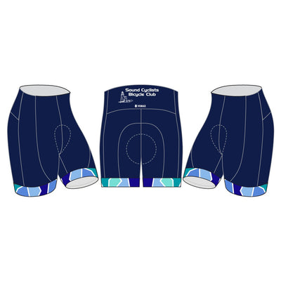 Sound Cyclists Club Members' Cycling Shorts
