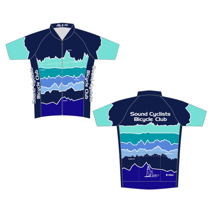 Sound Cyclists Cycling Club Members' Jersey