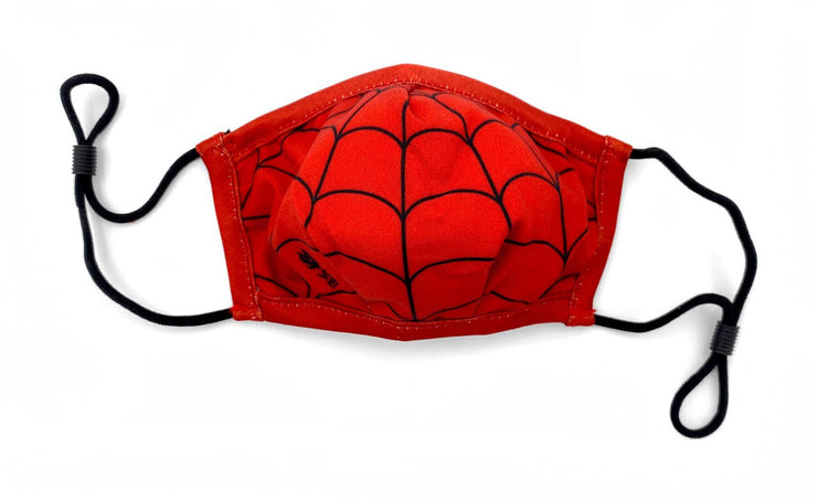 3-Layer Child Face Mask – Spidey Sense