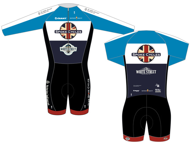 Spoke Cycles Long Sleeve Thermal Skinsuit