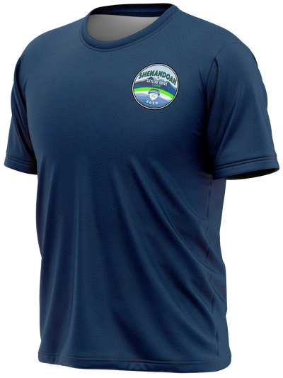 Shenandoah Skyline Drive Tour Short Sleeve Tech Tee