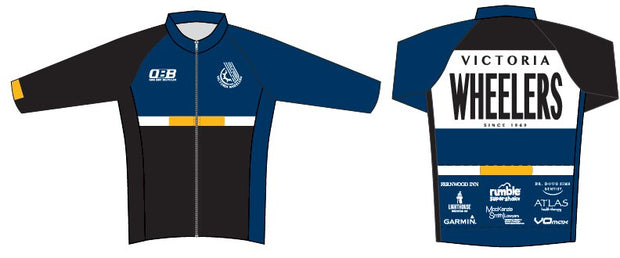 Victoria Wheelers Thermal Long Sleeve Jersey
