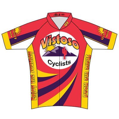 Vistoso Women's Club Cut Short Sleeve Cycling Jersey