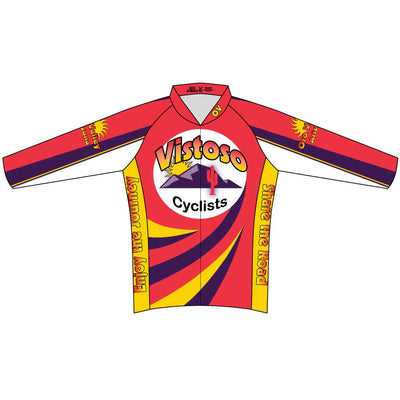 Womens Race Cut Long Sleeve Vistoso Jersey