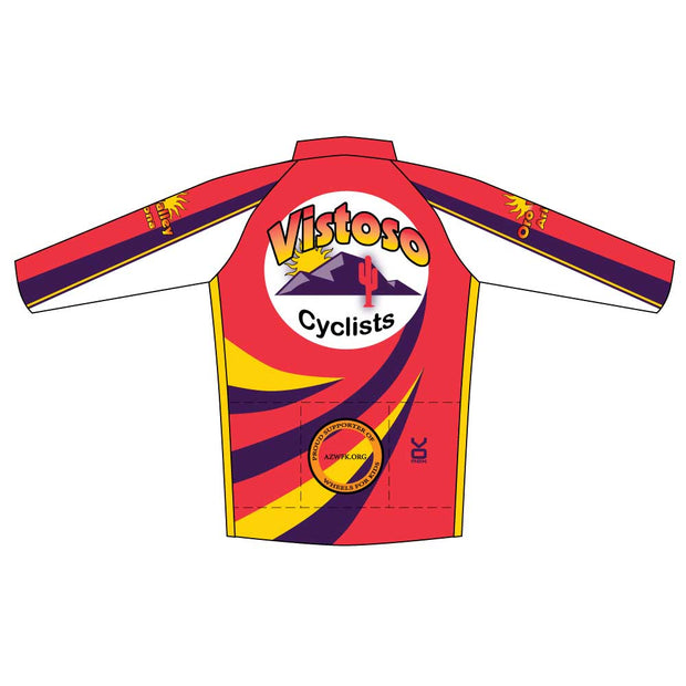Vistoso Men's Race Cut Long Sleeve Cycling Jersey
