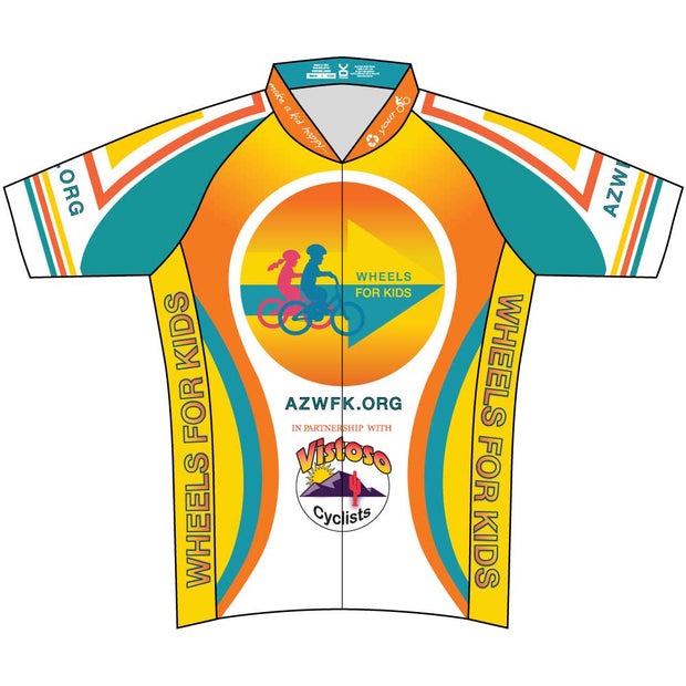Womens Club Cut Wheels For Kids Jersey