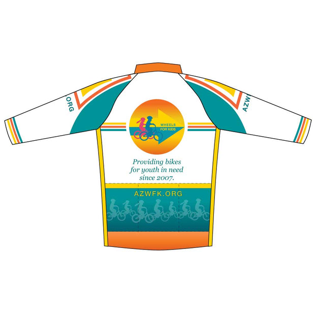 Womens Race Cut Long Sleeve Wheels for Kids Jersey