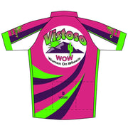 Vistoso Women On Wheels Race Cut Short Sleeve Cycling Jersey