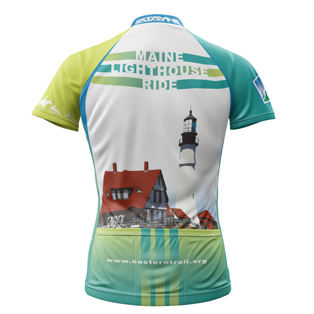 Maine Lighthouse Ride 2014 + Womens REC Cycling Jersey (ORDER UP IF WANT LOOSER)