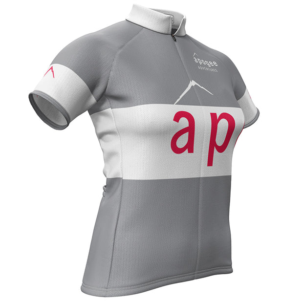 Apogee Adventures + Womens REC Cycling Jersey