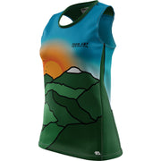 Team AMP + Womens REC Singlet Elite