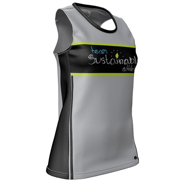 Team Sustainable Athlete Womens Grind Singlet