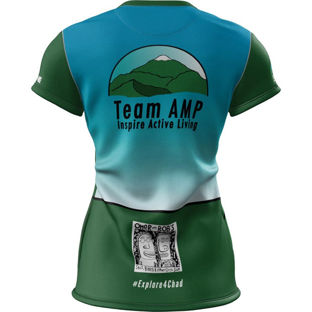 Team AMP + Womens SS REC T Elite