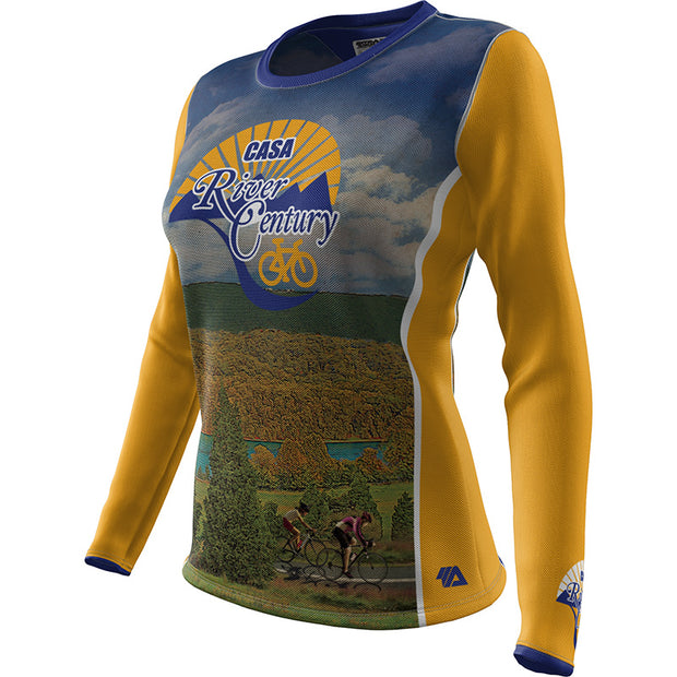 CASA River Century + Womens Long Sleeve REC T Elite