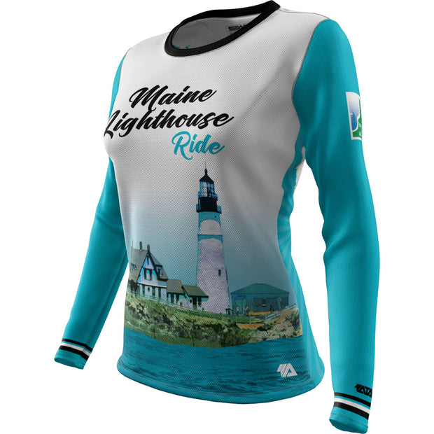 Maine Lighthouse Ride 2019 + WOMENS LS REC T Elite