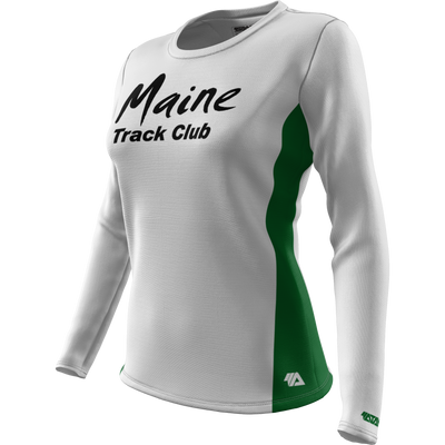 Maine Track Club + Womens Long Sleeve REC T Elite
