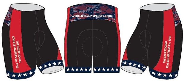 World T.E.A.M. Sports Cycling Shorts