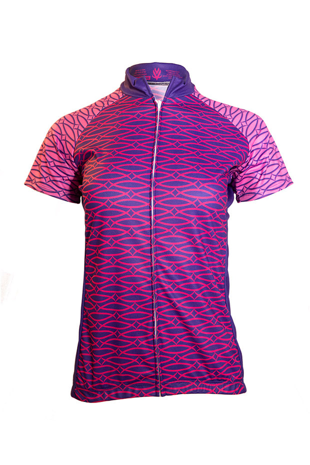 Vomax Women's Club Cycling Jersey - Purple