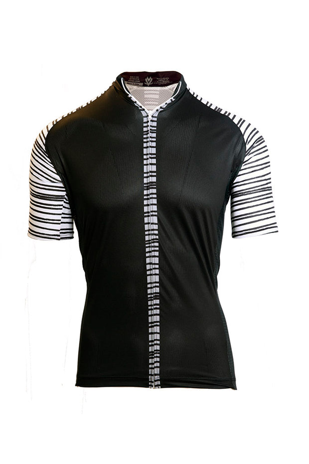 Vomax Women's Elite Cycling Jersey - Black/White