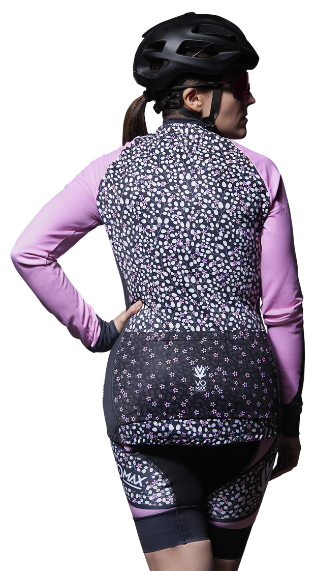 Women's Venom Pro Long Sleeve Cycling Jersey- Lavender
